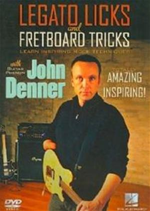 Legato Licks: Fretboard Tricks Online DVD Rental