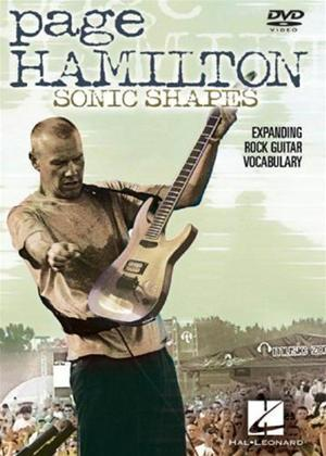 Page Hamilton: Sonic Shapes Online DVD Rental