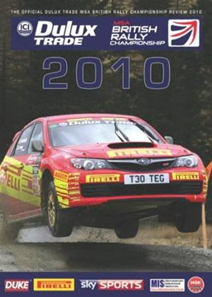 Rent British Rally Championship Review 2010 Online DVD Rental
