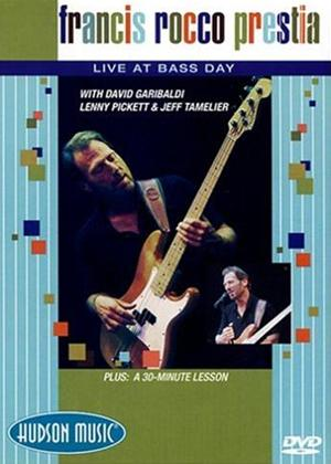 Rent Francis Rocco Prestia: Live at Bass Day Online DVD Rental