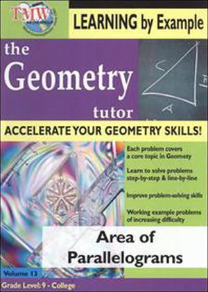 Rent The Geometry Tutor: Area of Parallelograms Online DVD Rental