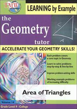 The Geometry Tutor: Area of Triangles Online DVD Rental