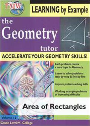 The Geometry Tutor: Area of Rectangles Online DVD Rental