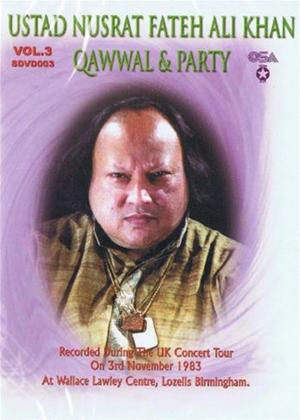 Rent Ustad Nusrat Fateh Ali Khan: Qawwal and Party: Vol.3 Online DVD Rental