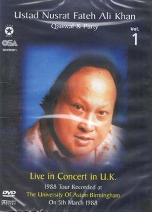 Rent Ustad Nusrat Fateh Ali Khan: Qawwal and Party: Vol.1 Online DVD Rental