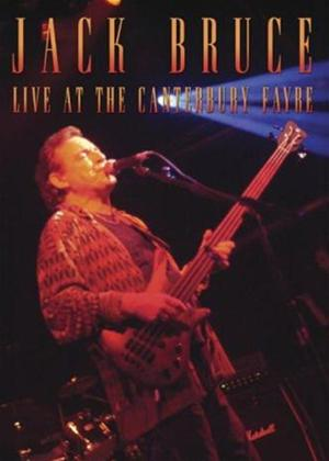 Rent Jack Bruce: Live at the Canterbury Fayre Online DVD Rental