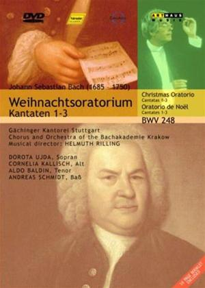 Rent Bach: Christmas Oratorio: Orchestra of Bachakademie Online DVD Rental