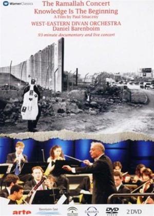 Rent The Ramallah Concert: West Eastern Divan Orchestra: Daniel B Online DVD Rental