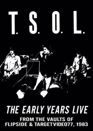 TSOL: The Early Years Live Online DVD Rental