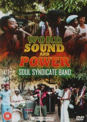 Soul Syndicate Band: Word Sound and Power Online DVD Rental