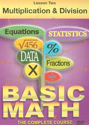 Basic Maths: Multiplication and Division Online DVD Rental