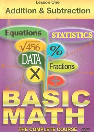 Rent Basic Maths: Addition and Subtraction Online DVD Rental