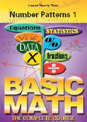 Basic Maths: Number Patterns 1 Online DVD Rental