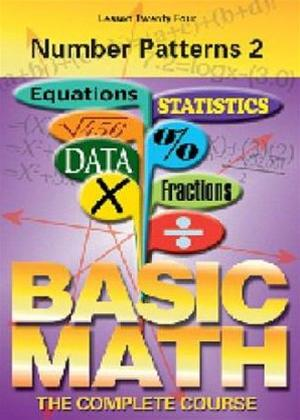 Basic Maths: Number Patterns 2 Online DVD Rental
