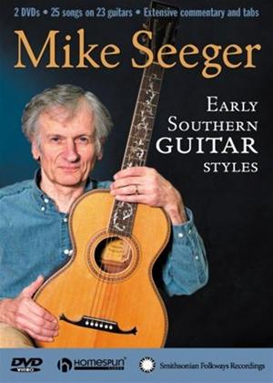 Mike Seeger: Early Southern Guitar Styles Online DVD Rental