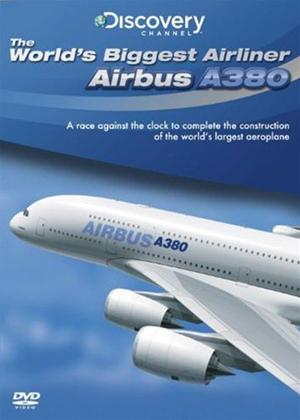 Rent World's Biggest Airliner: Airbus A380 Online DVD Rental