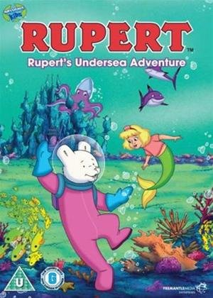 Ruperts Undersea Adventure Online DVD Rental