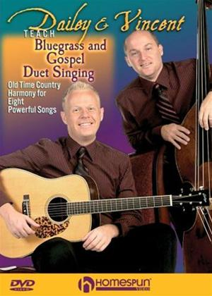 Dailey and Vincent Teach Bluegrass and Gospel Duet Singing Online DVD Rental