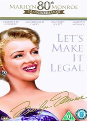 Let's Make It Legal Online DVD Rental