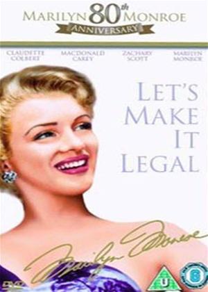 Rent Let's Make It Legal Online DVD Rental