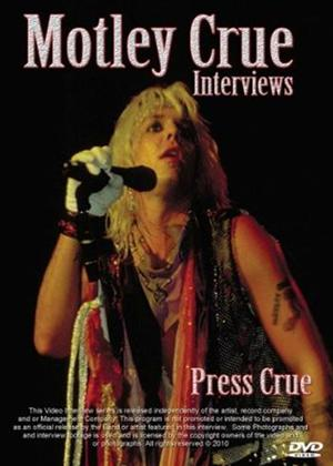 Motley Crue Interviews: Press Crue Online DVD Rental