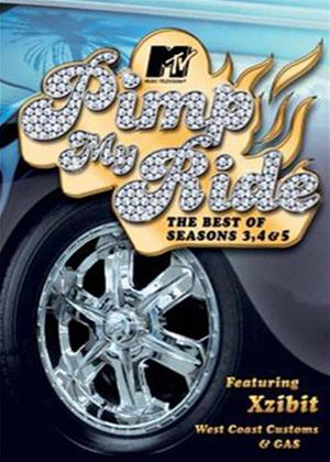 Rent Pimp My Ride: Series 3-5 Best of Online DVD Rental
