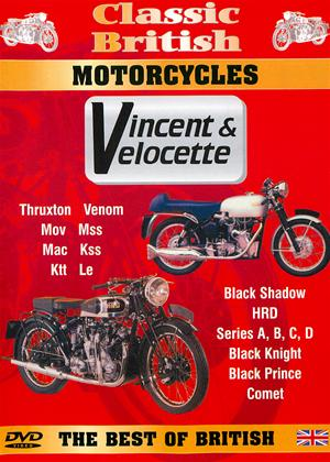 Rent Classic British Motorcycles: Vincent and Velocette Online DVD Rental