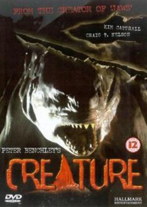 Rent Peter Benchley's Creature Online DVD Rental