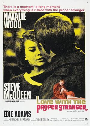 Rent Love with the Proper Stranger Online DVD Rental