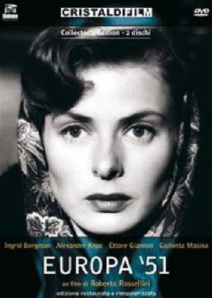Rent Europa '51 Online DVD Rental