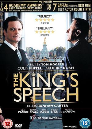 Rent The King's Speech Online DVD Rental