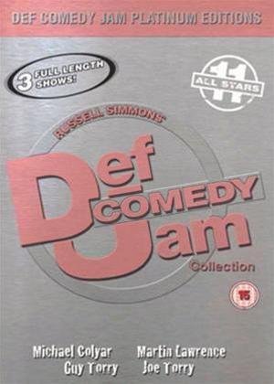 Def Jam Comedy Platinum Edition 11 Online DVD Rental