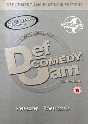 Rent Def Jam Comedy Platinum Edition 4 Online DVD Rental