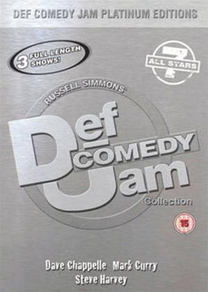 Def Jam Comedy Platinum Edition 7 Online DVD Rental