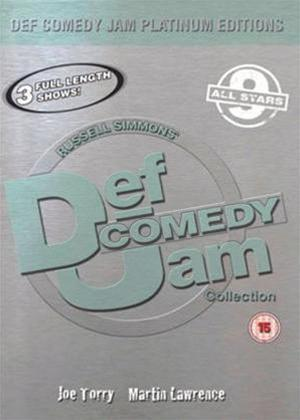 Rent Def Jam Comedy Platinum Edition 9 Online DVD Rental