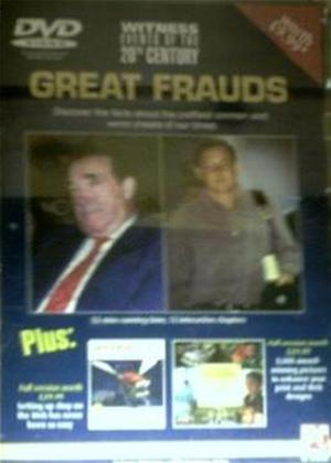 Witness Events of the 20th Century: Great Frauds Online DVD Rental