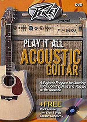 Rent Play It All on Acoustic Guitar Online DVD Rental