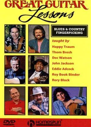 Blues and Country Fingerpicking Guitar Lessons Online DVD Rental