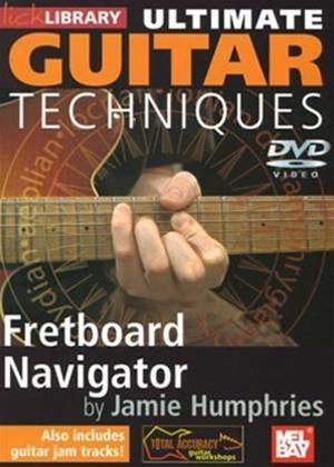 Rent Ultimate Guitar Techniques: Fretboard Navigator: Vol.1 Online DVD Rental