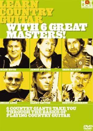 Hot Licks: Learn Country Guitar with 6 Great Masters Online DVD Rental