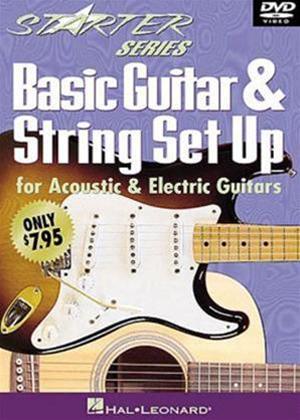 Rent Basic Guitar and String Set Up Online DVD Rental
