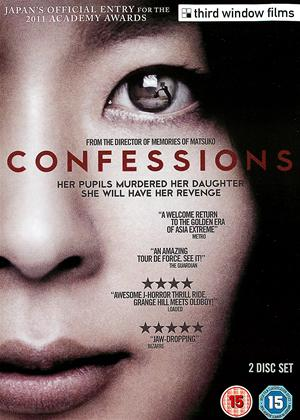 Confessions Online DVD Rental