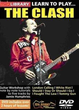 Rent Lick Library: Learn to Play the Clash Online DVD Rental