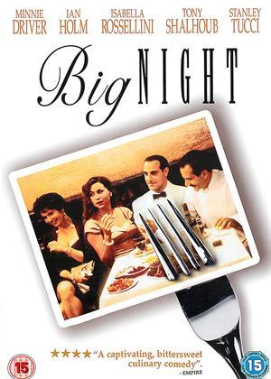 Rent Big Night Online DVD Rental