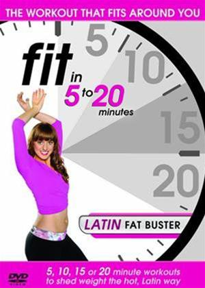 Rent Fit in 5 to 20 Minutes: Latin Fat Buster Online DVD Rental