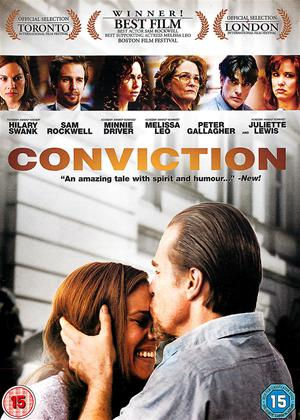 Conviction Online DVD Rental