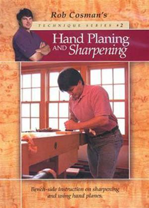 Hand Planing and Sharpening Online DVD Rental