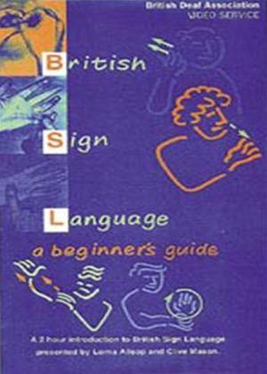 Rent British Sign Language: A Beginner's Guide Online DVD Rental