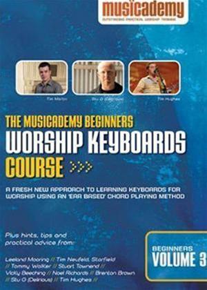 Rent Musicacademy: Intermediate Worship Keyboards Course: Vol.3 Online DVD Rental