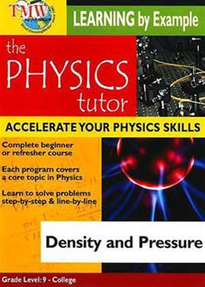 Physics Tutor: Density and Pressure Online DVD Rental